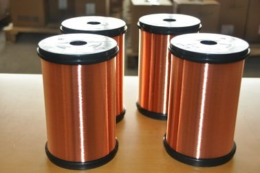 Polyesterimide Enameled Copper Wire Insulated Type For Transformers / Motors